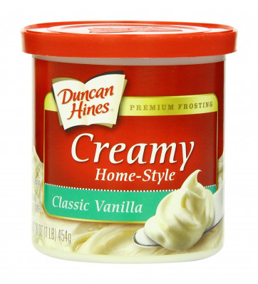 Duncan Hines Classic Vanilla Frosting 454 g