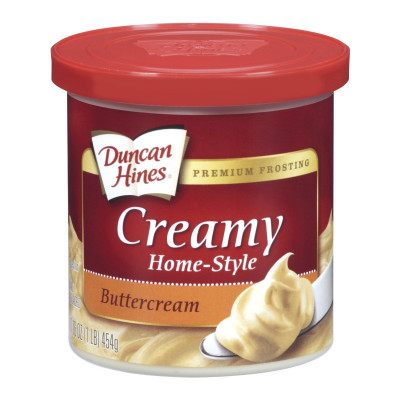 Duncan Hines Buttercream Frosting 454 g