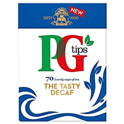 PG Tips The Tasty Decaf 70 Bags 203 g