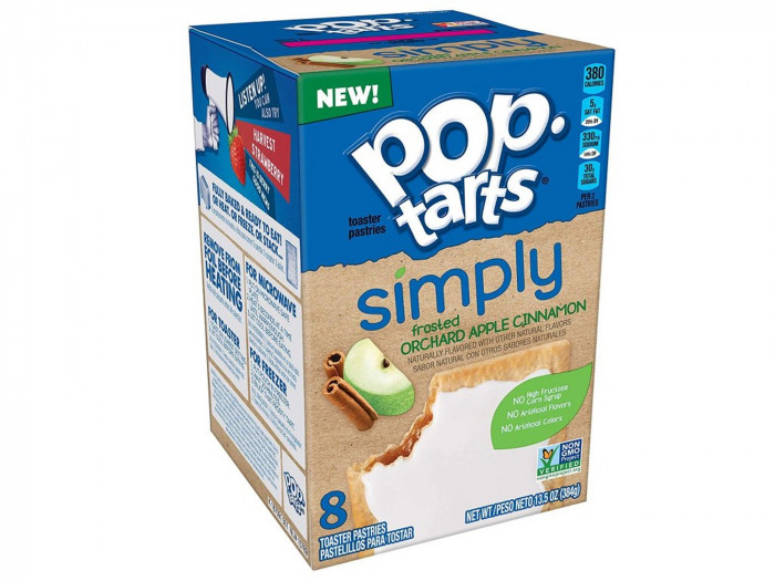 detail Pop Tarts Simply Orchard Apple Cinnamon 384 g